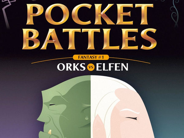 Bild zu Alle Brettspiele-Spiel Pocket Battles - Orks vs. Elfen