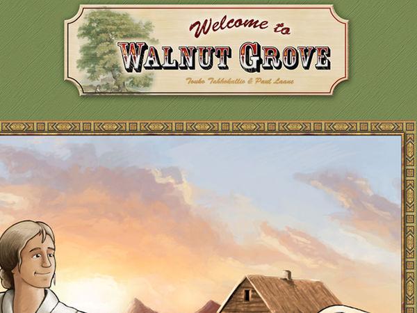 Bild zu Alle Brettspiele-Spiel Welcome to Walnut Grove