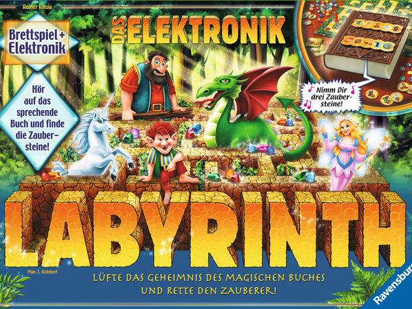 Bild zu Alle Brettspiele-Spiel Das Elektronik Labyrinth