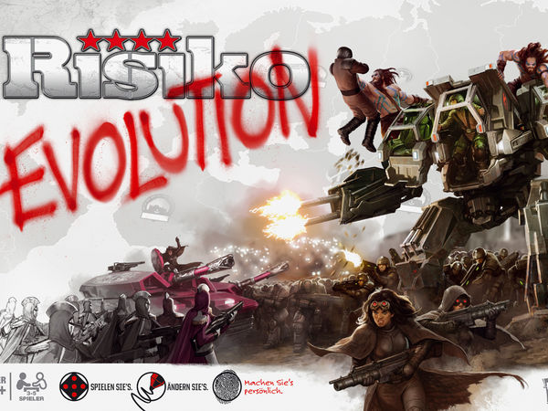 Bild zu Alle Brettspiele-Spiel Risiko Evolution