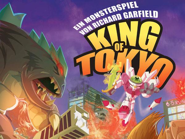 Bild zu Alle Brettspiele-Spiel King of Tokyo