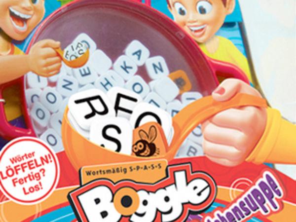 Bild zu Alle Brettspiele-Spiel Boggle Buchstabensuppe