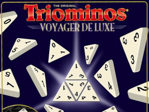 Bild zu Alle Brettspiele-Spiel Triominos Voyager de Luxe