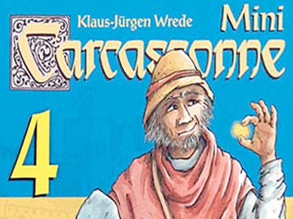 Bild zu Alle Brettspiele-Spiel Carcassonne Mini 4: Die Goldminen