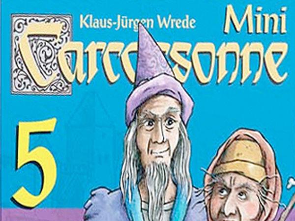 Bild zu Alle Brettspiele-Spiel Carcassonne Mini 5: Magier & Hexe