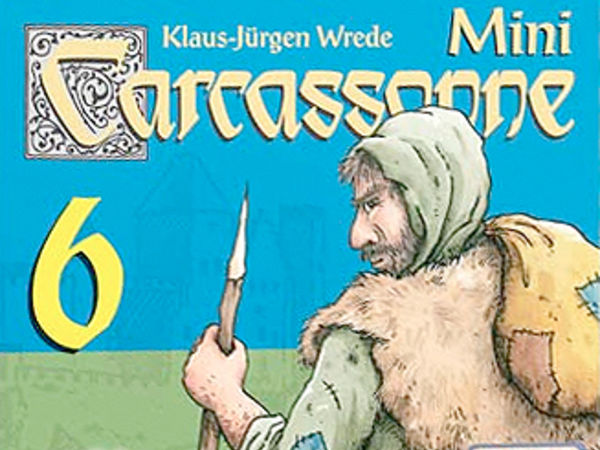 Bild zu Alle Brettspiele-Spiel Carcassonne Mini 6: Die Räuber