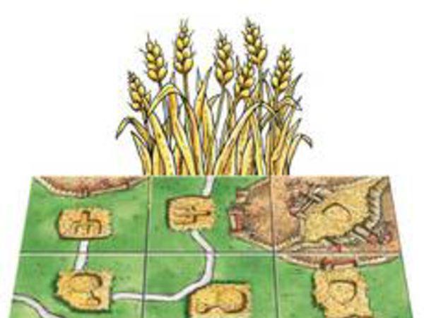 Bild zu Alle Brettspiele-Spiel Carcassonne Mini 7: Die Kornkreise