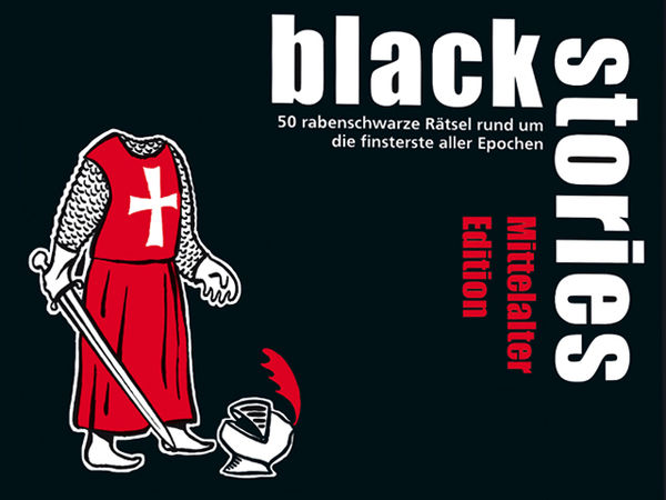 Bild zu Alle Brettspiele-Spiel Black Stories: Mittelalter Edition