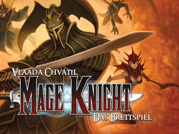 Bild zu Alle Brettspiele-Spiel Mage Knight - Das Brettspiel