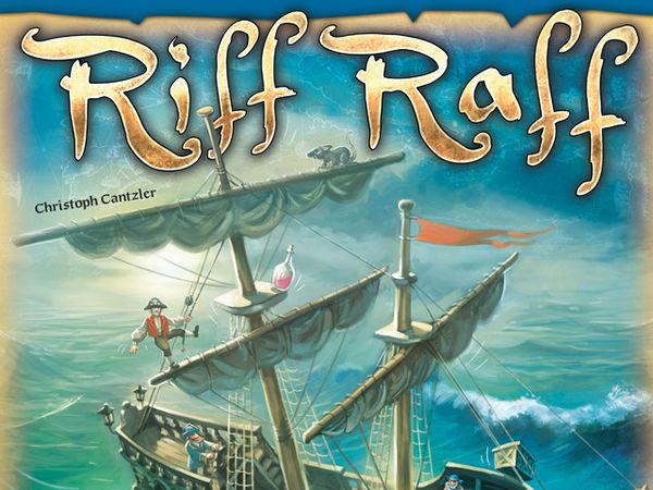 Bild zu Alle Brettspiele-Spiel Riff Raff