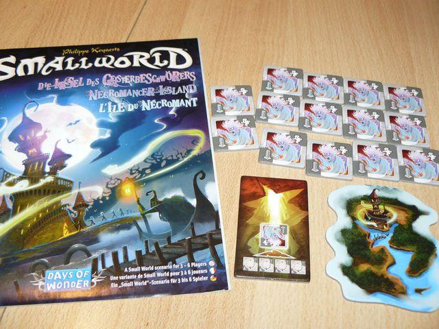 Small World: Die Insel des Geisterbeschwörers Bild 1