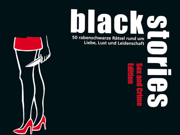 Bild zu Alle Brettspiele-Spiel Black Stories : Sex and Crime Edition