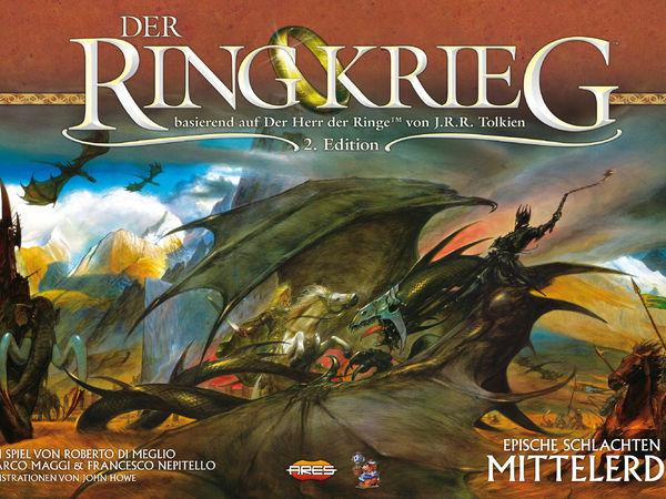 Bild zu Alle Brettspiele-Spiel Der Ringkrieg -2. Edition