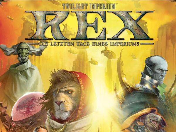Bild zu Alle Brettspiele-Spiel Twilight Imperium Rex - Die letzten Tage eines Imperiums