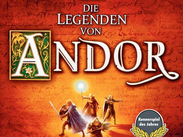Bild zu Alle Brettspiele-Spiel Die Legenden von Andor