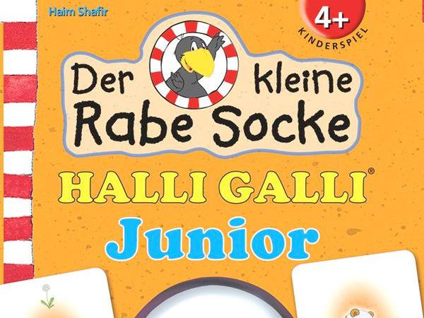 Bild zu Alle Brettspiele-Spiel Halli Galli Junior - Der kleine Rabe Socke