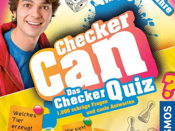 Bild zu Alle Brettspiele-Spiel Checker Can - das Checker-Quiz
