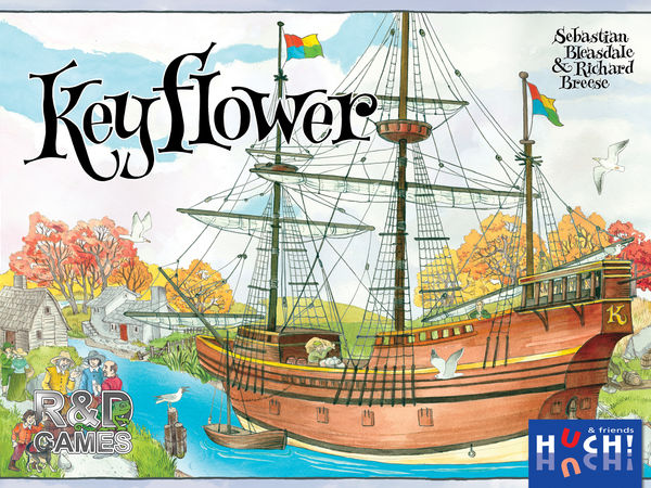 Bild zu Alle Brettspiele-Spiel Keyflower