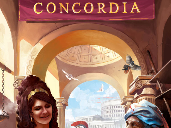 Bild zu Alle Brettspiele-Spiel Concordia