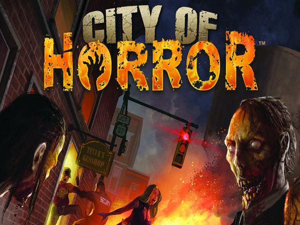 Bild zu Alle Brettspiele-Spiel City of Horror