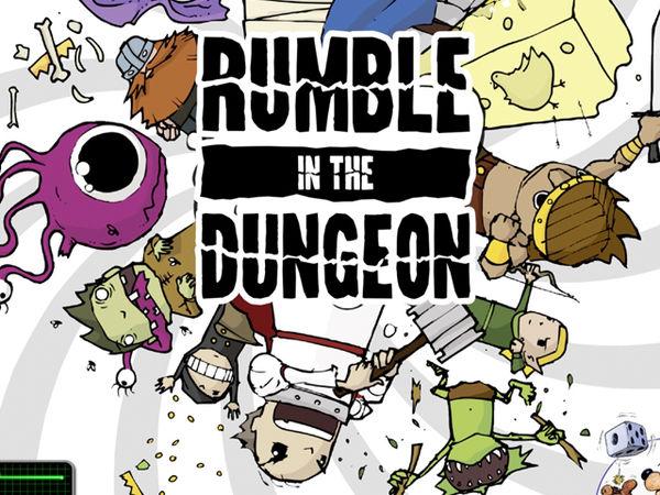 Bild zu Alle Brettspiele-Spiel Rumble in the Dungeon