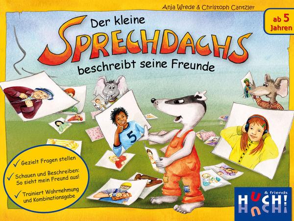Bild zu Alle Brettspiele-Spiel Der kleine Sprechdachs beschreibt seine Freunde