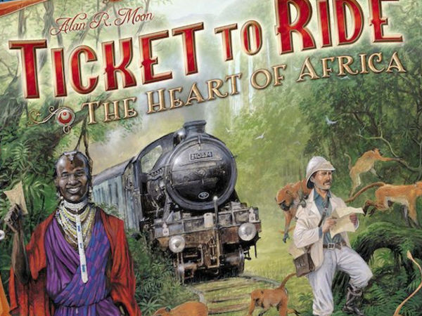 Bild zu Alle Brettspiele-Spiel Zug um Zug: Im Herzen Afrikas