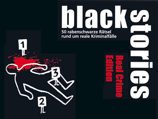 Bild zu Alle Brettspiele-Spiel Black Stories: Real Crime Edition