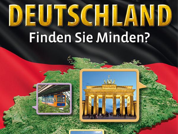 Bild zu Alle Brettspiele-Spiel Deutschland - Finden Sie Minden? Mitbringspiel