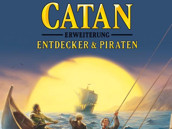 Bild zu Alle Brettspiele-Spiel Catan: Erweiterung - Entdecker & Piraten