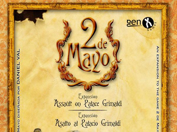 Bild zu Alle Brettspiele-Spiel 2 de Mayo: Assault on Palace Grimaldi