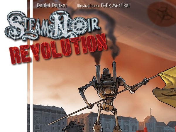 Bild zu Alle Brettspiele-Spiel Steam Noir: Revolution