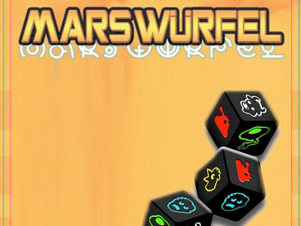 Bild zu Alle Brettspiele-Spiel Mars Würfel
