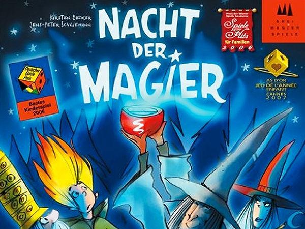 Bild zu Alle Brettspiele-Spiel Nacht der Magier