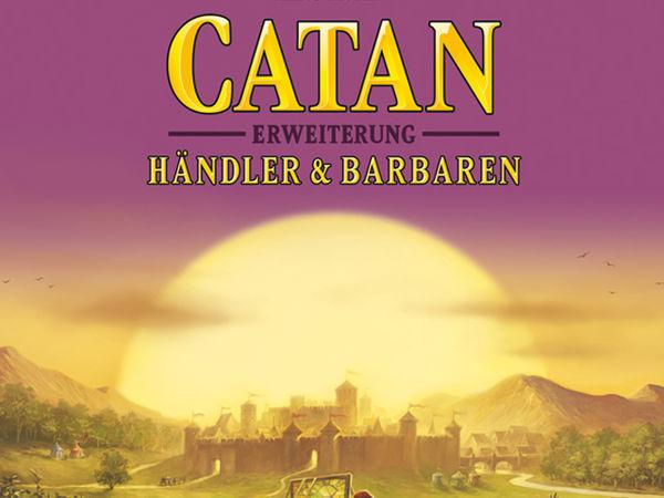 Bild zu Alle Brettspiele-Spiel Catan: Erweiterung - Händler & Barbaren
