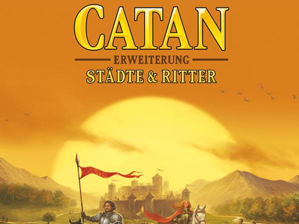 Bild zu Alle Brettspiele-Spiel Catan: Erweiterung - Städte & Ritter