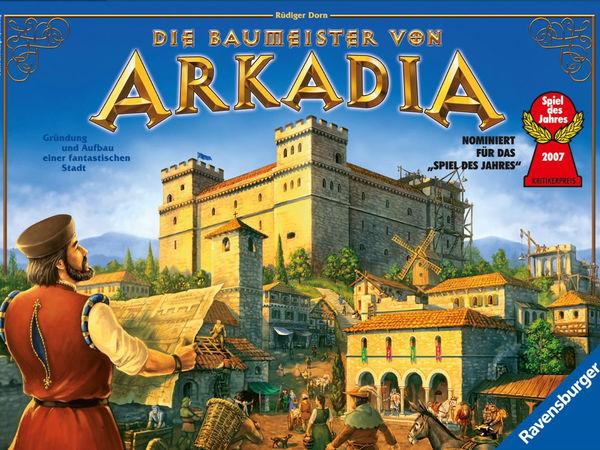 Bild zu Alle Brettspiele-Spiel Die Baumeister von Arkadia