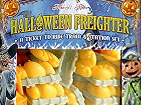 Bild zu Alle Brettspiele-Spiel Zug um Zug: Halloween Frachter-Set