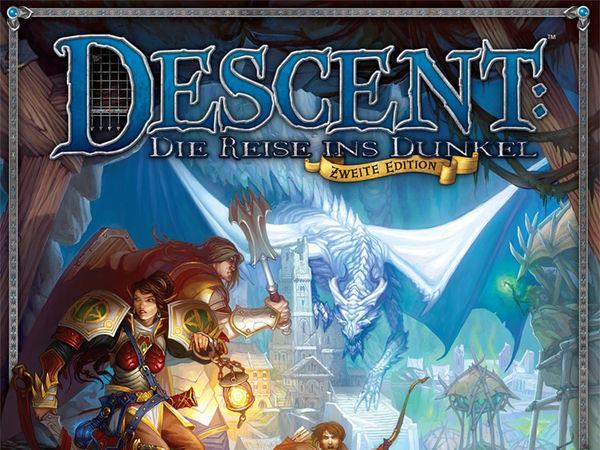 Bild zu Alle Brettspiele-Spiel Descent: Die Reise ins Dunkel - Zweite Edition