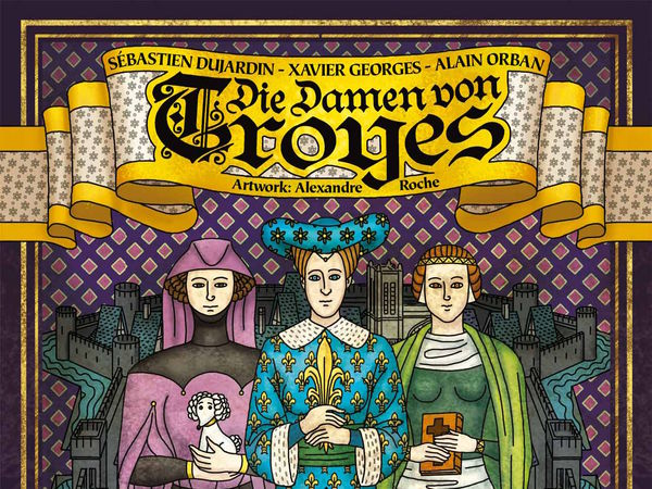 Bild zu Alle Brettspiele-Spiel Die Damen von Troyes