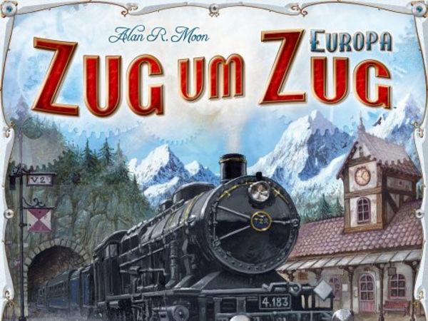 Bild zu Alle Brettspiele-Spiel Zug um Zug: Europa