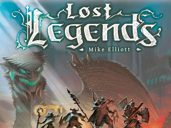 Bild zu Alle Brettspiele-Spiel Lost Legends