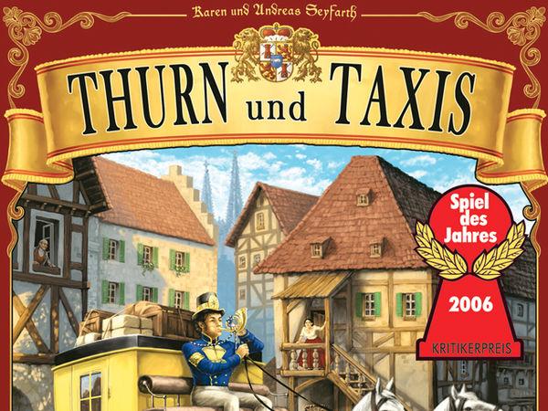 Bild zu Alle Brettspiele-Spiel Thurn und Taxis