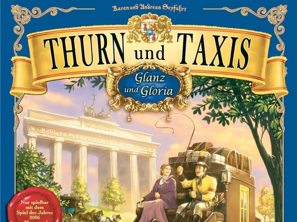 Bild zu Alle Brettspiele-Spiel Thurn und Taxis: Glanz und Gloria