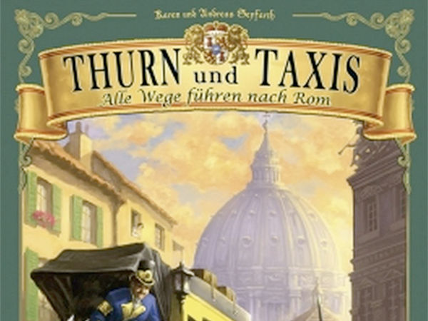 Bild zu Alle Brettspiele-Spiel Thurn und Taxis: Alle Wege führen nach Rom