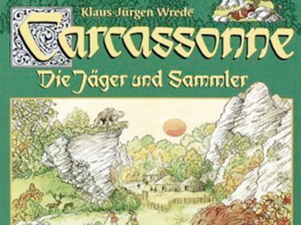 Bild zu Alle Brettspiele-Spiel Carcassonne: Jäger und Sammler