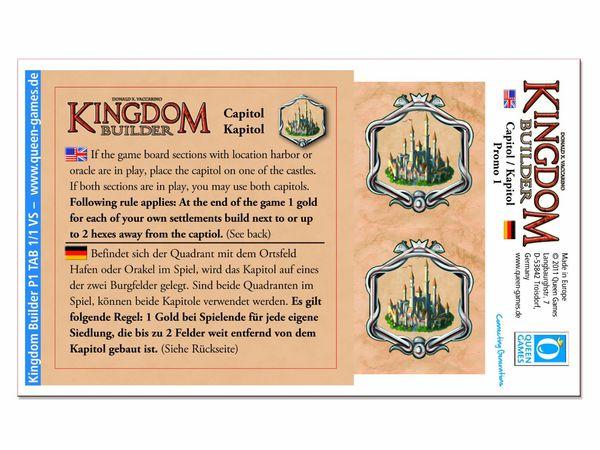 Bild zu Alle Brettspiele-Spiel Kingdom Builder: Kapitol