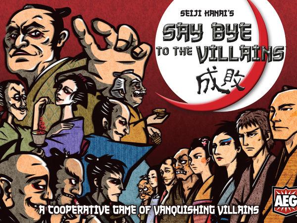 Bild zu Alle Brettspiele-Spiel Say Bye to the Villains