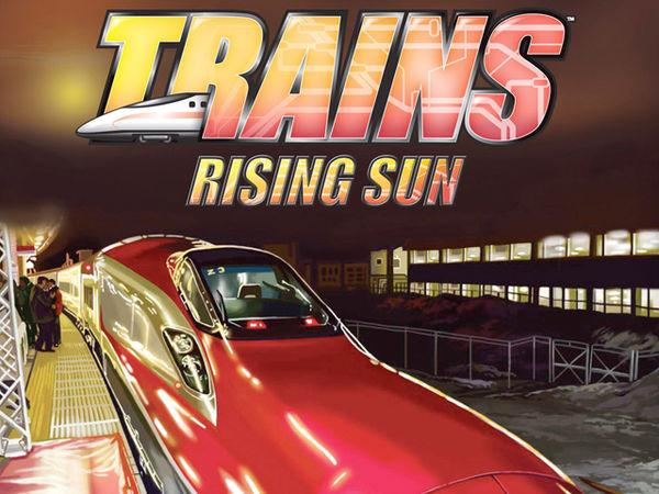 Bild zu Alle Brettspiele-Spiel Trains: Rising Sun