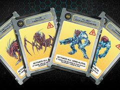 Galaxy Defenders: Close Encounter Danger Variant Cards